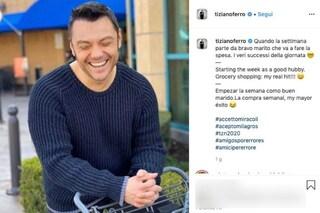 """Tiziano Ferro dopo Sanremo si dedica all'amore: """"Da bravo marito vado a fare la spesa"""""""