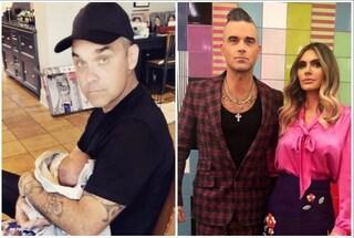 Quarto figlio per Robbie Williams e Ayda Fiel, il secondo nato da madre surrogata