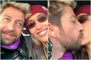 """Nina Zilli e Danti allo scoperto, il video con i baci: """"Siamo fidanzati"""""""