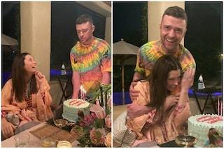 """Jessica Biel e il suo compleanno con Justine Timberlake: """"Ho festeggiato con stile, cioè in pigiama"""""""