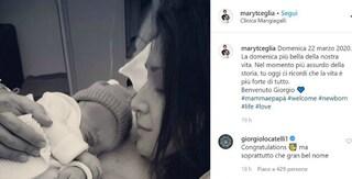 Maria Teresa Ceglia di Masterchef 9 è diventata mamma: è nato il piccolo Giorgio