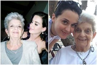 """Morta Ann Pearl Hudson la nonna di Katy Perry: """"Ora c'è un angelo che ci guarda"""""""