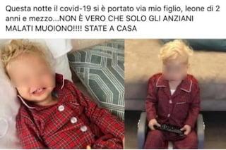 """Foto del figlio di Fedez usate per fake news sul bambino morto di coronavirus, lui: """"Senza parole"""""""