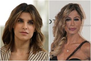 """Elisabetta Canalis non fa pace con Maddalena Corvaglia: """"Muri difficili da buttare giù"""""""