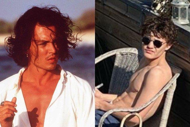 Johnny Depp e il figlio Jack
