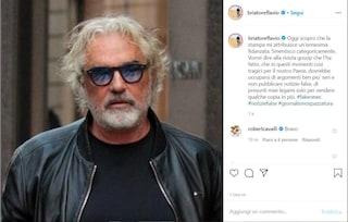 """Flavio Briatore smentisce 'l'ennesima fidanzata': """"Il settimanale Chi si occupi di cose serie"""""""