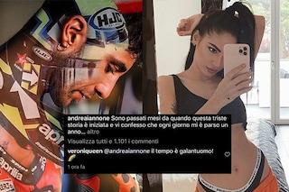 """Veronica De Lellis scrive ad Andrea Iannone e viene attaccata: """"Pensate alla vostra vita"""""""