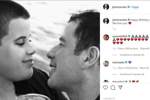 John Travolta | l'attore ricorda il figlio morto nel giorno del suo compleanno