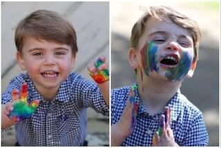 Louis di Cambridge festeggia 2 anni, le foto scattate da Kate per il compleanno in quarantena