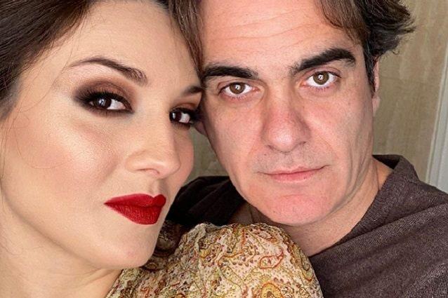 Francesca Manzini e il fidanzato Christian Vitelli
