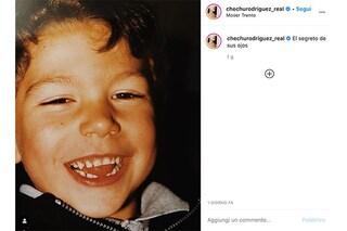 """Cecilia Rodriguez pubblica una foto di Ignazio Moser da bambino: """"Il segreto dei suoi occhi"""""""