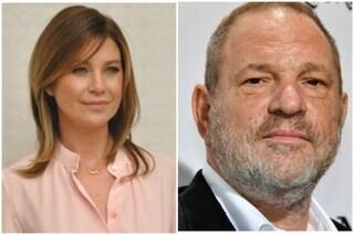 """Ellen Pompeo attaccata per aver difeso Harvey Weinstein. L'attrice disse: """"Il tango si balla in due"""""""