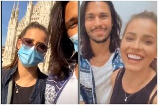 Luca Onestini e Ivana Mrazova si rivedono dopo il lockdown e sono sempre più innamorati