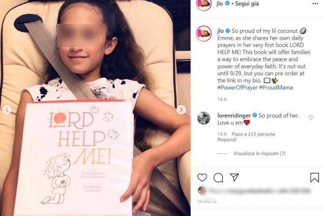 Jennifer Lopez, la figlia Emme ha scritto un libro… di preghiere!