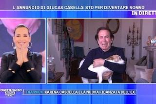 """Giucas Casella sarà nonno, lacrime di gioia per il figlio James: """"Sono felicissimo"""""""