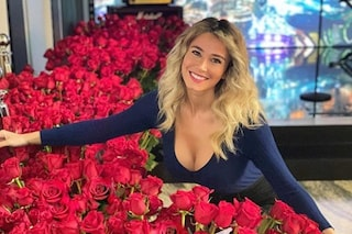 Diletta Leotta riceve mille rose rosse da un ammiratore segreto, lei è legata a Daniele Scardina