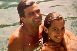 """Barbara D'Urso e la foto con l'ex Mauro Berardi: """"L'uomo che più ho amato nella mia vita"""""""