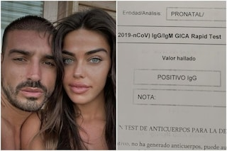 Fabio Colloricchio e Violeta Mangrinyan hanno avuto il coronavirus