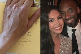 Vanessa Bryant ha trovato una lettera di Kobe Bryant, dentro c'è il disegno di un angelo