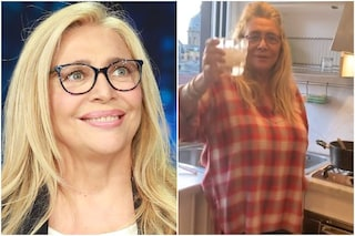 """Mara Venier: """"Ho preso 8 chili, in quarantena non faccio altro che cucinare e mangiare"""""""