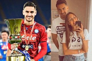 """Debora Romano fidanzata di Alex Meret dopo la vittoria: """"Ragazzo meraviglioso e portiere fortissimo"""""""