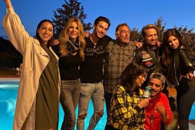 Grande Fratello Vip Adriana Volpe, riunione coi compagni: