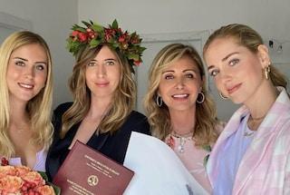 Chiara e Valentina Ferragni festeggiano la laurea di Francesca, l'unica sorella non influencer