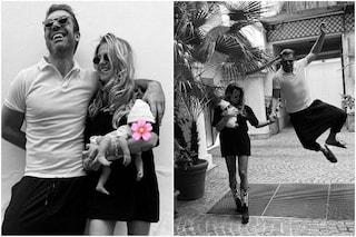 """Gli Argentero nella foto di famiglia: """"Gli unici autorizzati a condividere il nostro amore"""""""