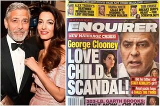George Clooney e Amal Alamuddin non si stanno separando, cosa c'è dietro i rumors sul divorzio
