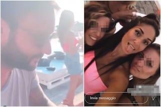 Sammy Hassan e il compleanno senza Giovanna, vicino a lui c'è l'ex di Davide Basolo