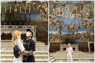 I Ferragnez nella Cappella Sistina, è polemica: ecco perché hanno potuto fare foto e video