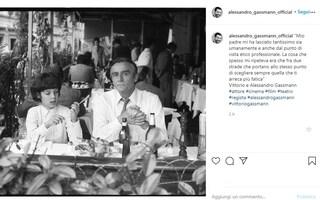 """Alessandro Gassmann ricorda suo padre Vittorio: """"Mi ha lasciato tantissimo, come lui nessuno"""""""
