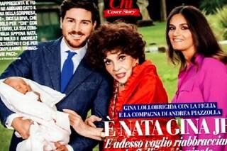 """La Lollobrigida accoglie Gina Jr, figlia di Piazzolla: """"Ora mio figlio smetta di farmi la guerra"""""""