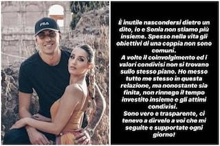 Massimo Colantoni e Sonia Onelli si sono lasciati dopo l'amore nato a Temptation Island