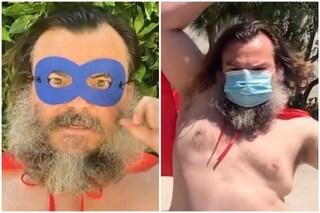 """Jack Black e il messaggio agli americani: """"Siate eroi indossate le mascherine"""""""