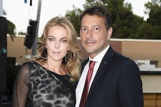 Claudia Gerini alla prima uscita pubblica con il fidanzato Simon Clementi