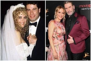 """""""Insieme, qualunque cosa accada"""", l'amore tra Kelly Preston e John Travolta nato sul set"""