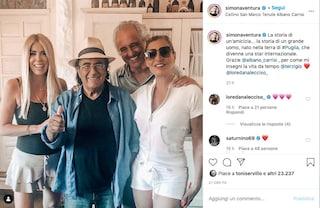 """Simona Ventura a casa di Al Bano a Cellino San Marco: """"Grazie per come mi insegni la vita da tempo"""""""