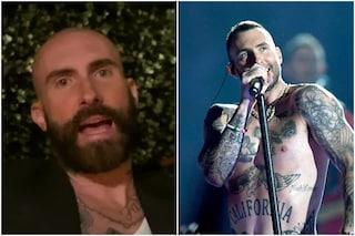 L'altro Adam Levine con capelli rasati e barba incolta, nel 2013 fu eletto l'uomo più sexy del mondo