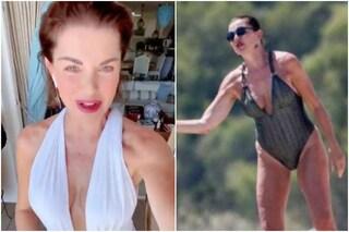 """Alba Parietti sulle foto senza ritocco in spiaggia: """"Non si tolga alle donne il gusto di piacere"""""""