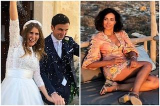 Il matrimonio di Sarah, sorella di Caterina Balivo: le foto e i video dei festeggiamenti a Favignana