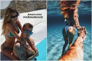 """Il nuovo fidanzato di Chiara Nasti è il calciatore Niklas Dorsch, è lei a confermarlo: """"Amore mio"""""""