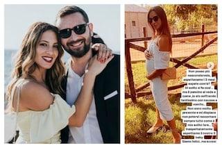 """Alessandra De Angelis e Emanuele D'Avanzo aspettano il terzo figlio: """"Felici ma scossi"""""""