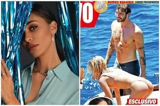 Stefano De Martino finisce in copertina con una bionda, le foto in barca