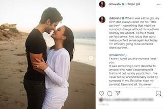 Demi Lovato e Max Ehrich si sposano, la proposta di matrimonio sulla spiaggia di Malibù