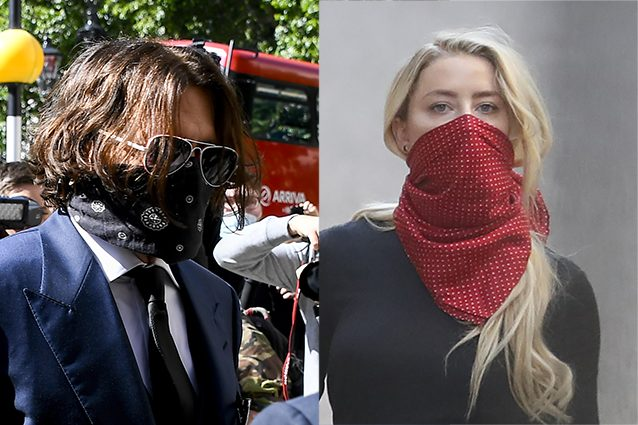Johnny Depp: cocaina e whiskey, le foto shock diffuse da Amber Heard