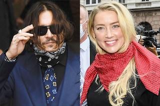 """Johnny Depp e Amber Heard, terzo giorno a processo: """"Relazione in caduta libera, mai fatto violenze"""""""
