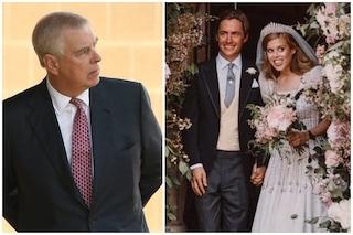 Il principe Andrea escluso dalle foto nuziali di Beatrice per le accuse di abusi e il caso Epstein