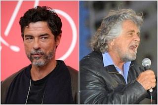 """Alessandro Gassman a Beppe Grillo: """"Da Alberto Sordi a Totti, ecco i romani 'gente de fogna'"""""""