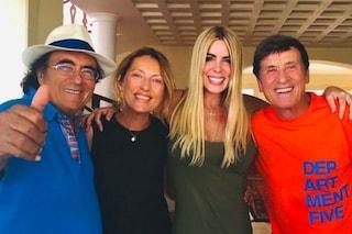 Gianni Morandi e le vacanze in Italia, tappa da Al Bano e Loredana Lecciso